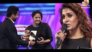 Filmfare Awards 2016 South Winners | Surya, Jyothika, Nayanthara
