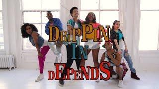Drippin' in Depends (FINESSE Remix PARODY) Music Video