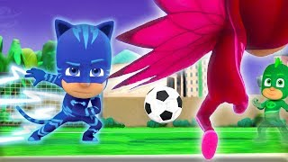 PJ Masks Episodes Football Fever! ⚽️WORLD CUP 2018 Special ⚽️Cartoons for Children