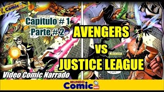 El dia que Flash llego al Universo Marvel y casi muere / Avengers vs Justice League # 2