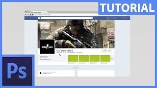 Snadné vytvoření banneru na Facebook nebo Youtube – Photoshop CZ tutorial