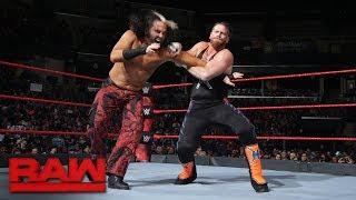 """Woken"" Matt Hardy makes Raw in-ring debut: Raw, Jan. 8, 2018"