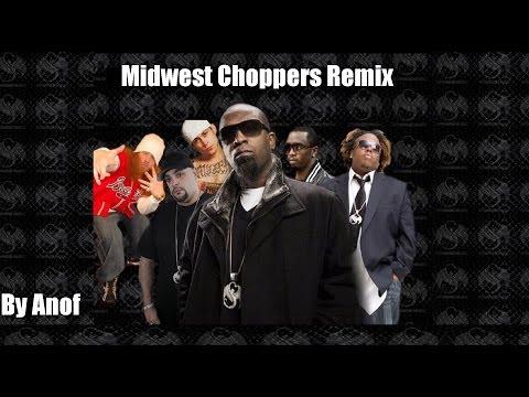 Tech N9ne - Midwest Choppers (feat. Rittz, Prozak, Krizz Kaliko, D-Loc & Dalima) (Remix)