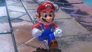 Super Mario 3D World 100% Walkthrough Part 6 - World 6 (All Green Stars & Stamps)