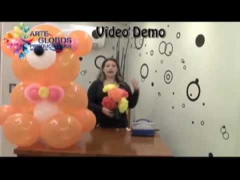 Curso de Globos Osito Cariñoso Parte II Balloons