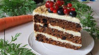 Tort de Morcovi cu Crema de Unt si Mascarpone