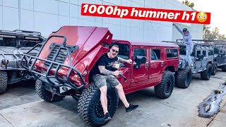 BUILDING OUR H1 HUMMERS TO BE EXTREME! + LAMBORGHINI WHEEL REVEAL