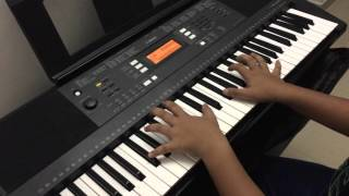 Premam hit song - MALARE Keyboard Version [By:- Nithin Baiju]