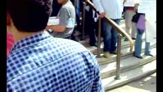مظاهرات تطالب باطلاق صراح مرتضي منصور