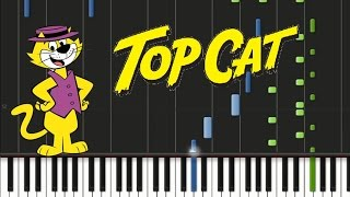 Top Cat - Theme Song [Synthesia Tutorial]