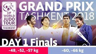 Judo Grand-Prix Tashkent 2018: Day 1 - Final Block