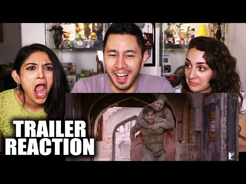 DUM LAGA KE HAISHA Trailer Reaction by Jaby, Fizaa & Cosima!
