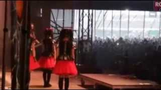 「BABYMETAL with DRAGONFORCE in Download Festival 2015 in England」