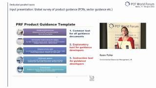 KAREN FISHER (ENVIRONMENTAL RESOURCES MANAGEMENT) - GLOBAL SURVEY OF PRODUCT GUIDANCE