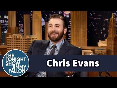 Chris Evans Is Starting to Speak Like His Toddler Nephew