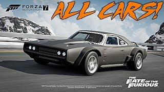 Forza Motorsport 7 | Fate Of The Furious Car Pack, ALL CARS REVEALED and Release Date!