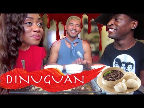 Xxx Mp4 Non Filipinos Try Dinuguan BLOOD STEW For The First Time Recipe Mukbang 3gp Sex