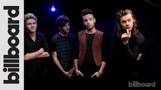 One Direction Backstage at the 2015 AMAs