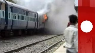 Train accident leaves at least 37 dead in India