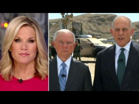Sec. Kelly and AG Sessions on border security DACA policy