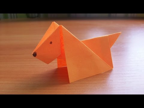 Xxx Mp4 DIY How To Make An Easy Paper DOG Origami Tutorial For Kids And Beginners 3gp Sex