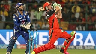 IPL 2016 | Royal Challengers Bangalore vs Mumbai Indians | RCB set 152 Run Target for MI