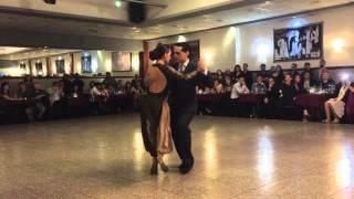 Janna Lopez y Claudio Peralta, El Huracàn con Los Reyes del Tango 1/2 La Baldosa 27/11/15
