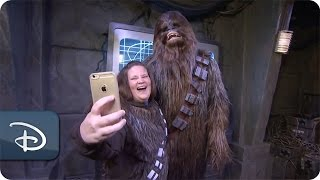 'Chewbacca' Mom Visits the Place Where Star Wars Lives | Disney's Hollywood Studios