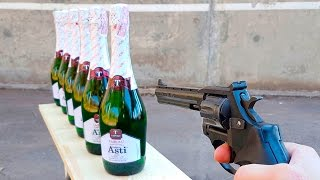 EXPERIMENT GUN vs CHAMPAGNE