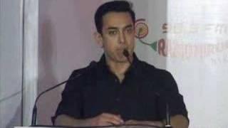 Aamir Khan Promoting Child Education - Destination NASA
