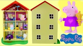 Nick Jr. Peppa Pig Lights and Sounds Family Home House, George, Vampirina Shopkins / Toys Unlimited
