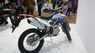 Impresi Warna Baru Kawasaki KLX 150 BF SE