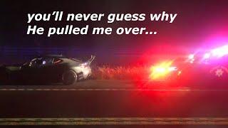 Cop IMMEDIATELY pulls me over in the Rocket Bunny BRZ :(
