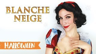 Maquillage d'Halloween : Blanche-Neige
