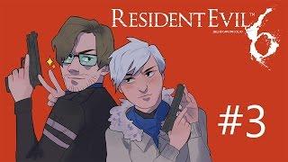 Resident Evil 6 with Northernlion [Episode 3] Traaaaaaaaaains!