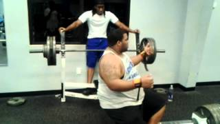 Ed wells in the gym