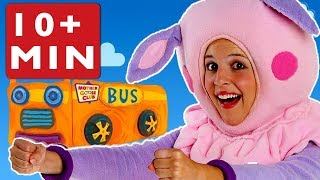 Wheels On The Bus   Mother Goose Club Compilation Learn Nursery Rhymes for Kids   Song For Children