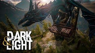Dark And Light - HIGH LVL KEBO TAMING & GIANT DRAGON TRANSPORT, VOLCANO #4 - DNL Survival Gameplay
