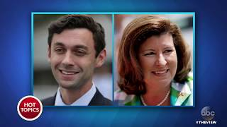 Georgia Political Ad Against Jon Ossoff Featuring Scalise Shooting Faces Backlash | The View