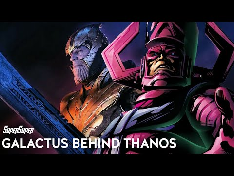 Thanos Was Saving Everyone From Galactus SuperSuper