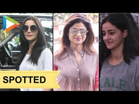 Xxx Mp4 CHECK OUT Alia Bhatt Shamita Shetty Ananya Pandey SPOTTED In Juhu 3gp Sex