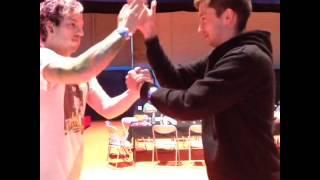 josh dun & tyler joseph's handshake