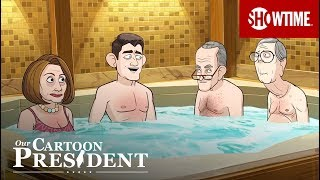 'Who Gets Out To Turn The Jets On' Ep. 8 Official Clip | Our Cartoon President | SHOWTIME
