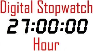 #087 Stopwatch Digital Timer 27 Hour counter