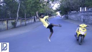 Akshay Sirsath B-boying Dance Video 2017 Arts passion dance crew