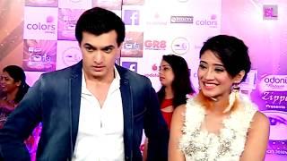 Mohsin Khan and Shivangi Joshi | Red Carpet | ITA Awards 2017