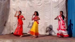 Krishna janmala dance performance.