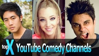 Top 10 YouTube Comedy Channels -TopX Ep. 3
