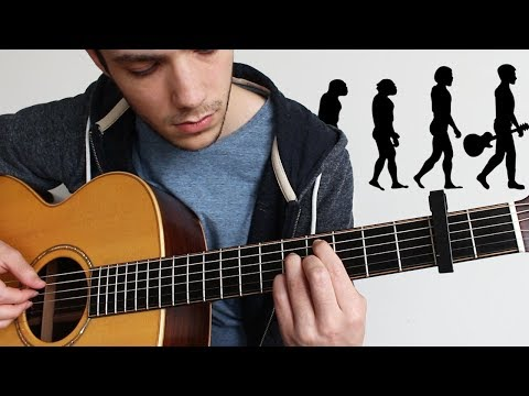 Evolution of Music on Guitar (FINGERSTYLE)