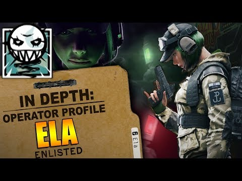 Xxx Mp4 Rainbow Six Siege In Depth HOW TO USE ELA OPERATOR PROFILE TIPS AND TRICKS 3gp Sex